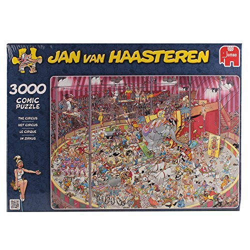 Jan Van Haasteren - The Circus 3000 Piece Jigsaw Puzzle by Jumbo Games
