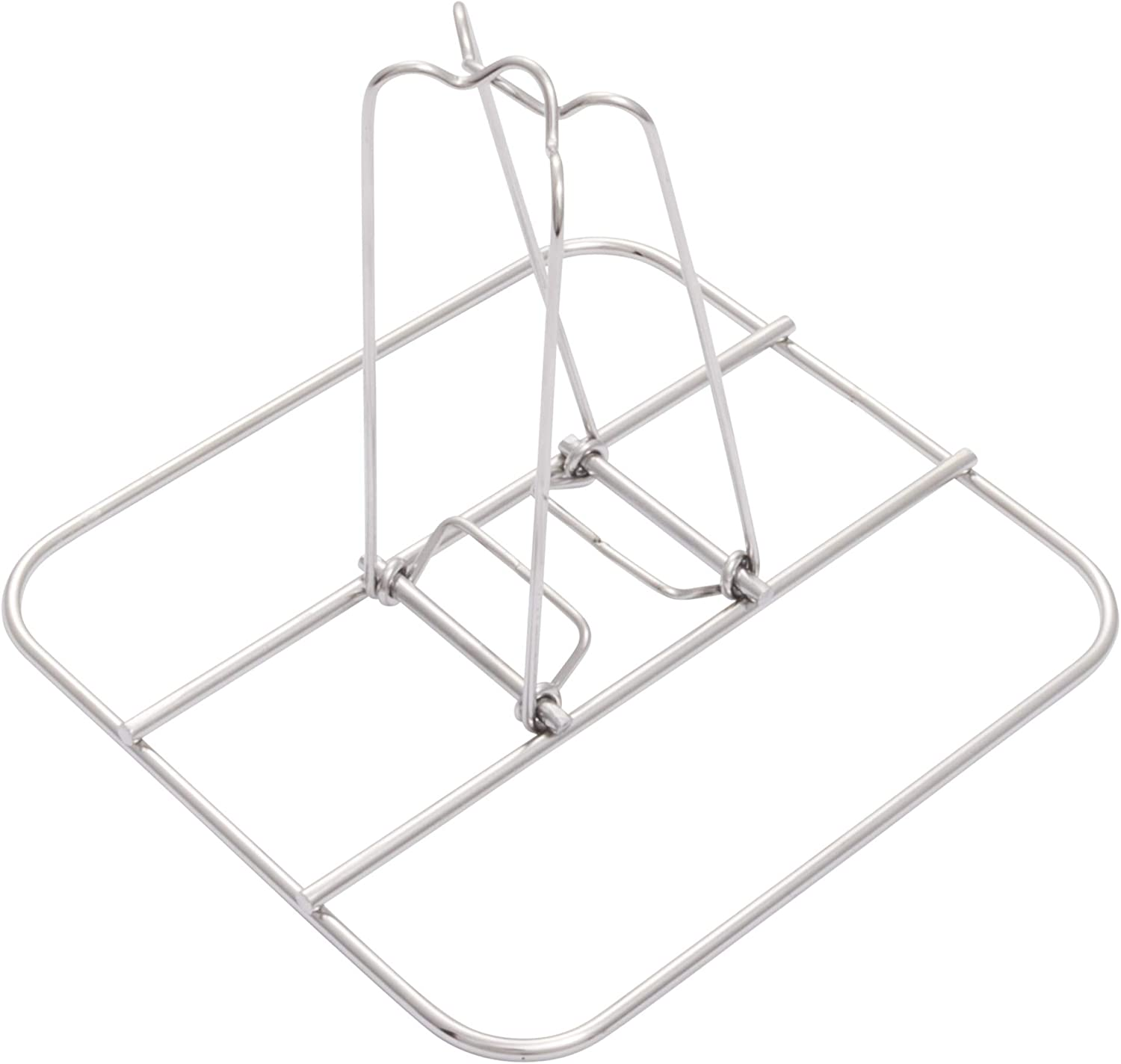 Char-Broil 7884572R08 Grill Plus Beer Can Chicken Roasting Rack, Silver