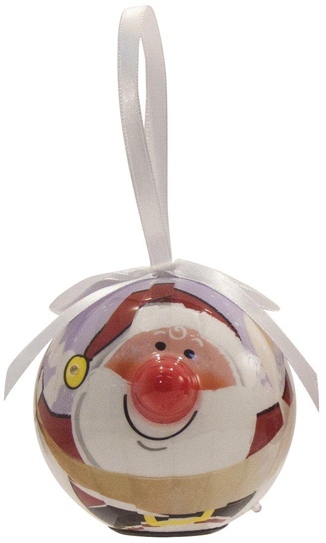 D/&D Distributing Santa Blink Ornament Twinkling Treasures CJ102D