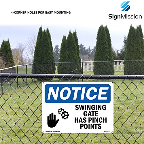 OSHA Warning Sign - Active Shooting Range Ahead No Trespassing | Choose from: Aluminum, Rigid Plastic or Vinyl Label Decal | Protect Your Business, Work Site, Warehouse & Shop Area | Made in The USA by SignMission (Image #4)