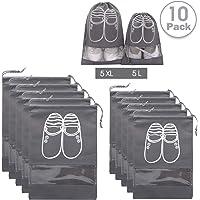 10 Piezas Bolsas de Zapatos,AMAYGA Multifunción a Prueba