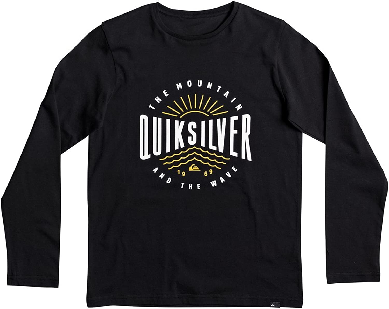 RIP CURL Square Logo LS Tee T Shirt Kinder