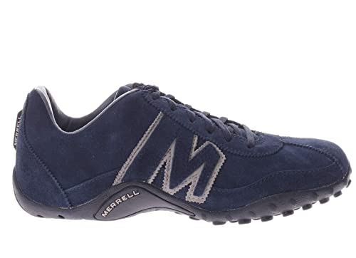 best quality so cheap exceptional range of styles Merrell Sprint Blast Suede Shoes Lace Up Trainers in Aster ...