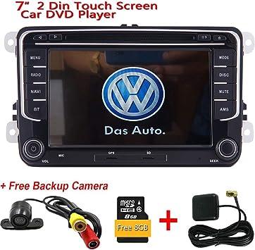 Doble 2 Din pantalla t¨¢ctil capacitiva est¨¦reo DVD del coche de ...