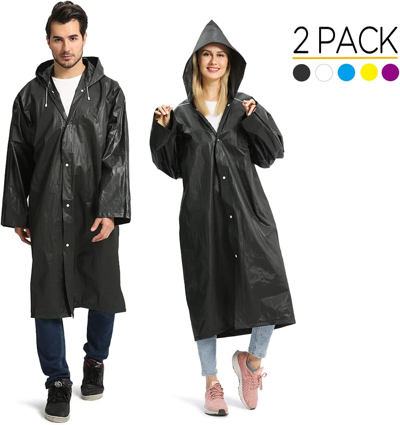 LIGHTWEIGHT WATERPROOF ADULTS RAINCOAT CAMPING MAC NEW