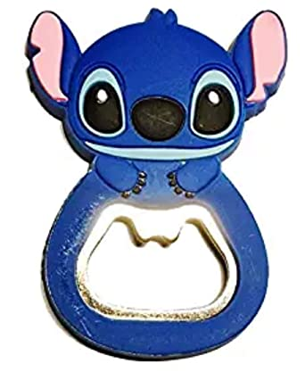 Amazon.com: Disneys Stitch - Abridor de botellas de metal ...