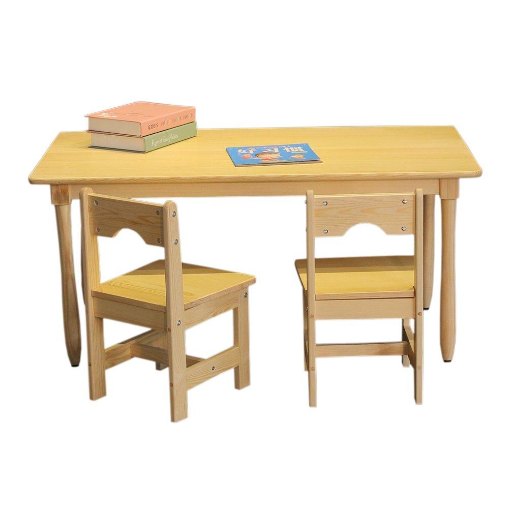 RUICHENG Massivholz Kinder Schreibtisch und Stuhl Kinder ...