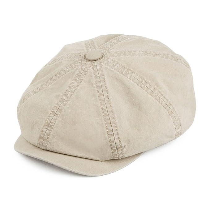 Gorra Newsboy Hatteras algodón orgánico de Stetson Hats - Arena ...