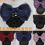 usongs 2018 Hot Products career head flower hair accessories stewardess nurse Bank Hotel postal blue hairnet