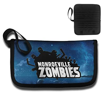 Monroeville Zombies Travel Wallet Passport Holder Document Organizer
