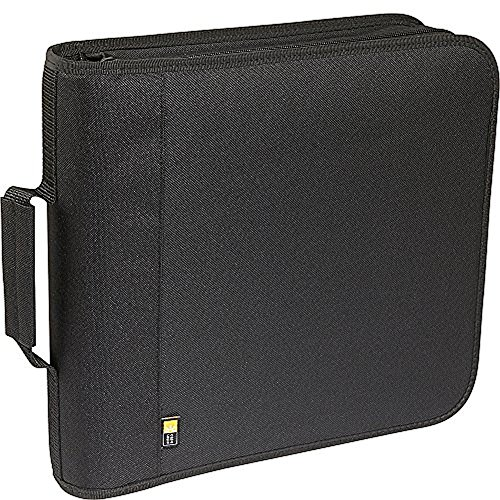 - Case Logic 208 Capacity Nylon CD/DVD Wallet (Black)