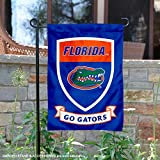Florida Gators Crest Shield Garden Flag and Banner