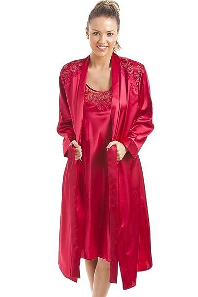 Camille - Bata - para mujer Rojo rosso: Camille: Amazon.es: Ropa y accesorios