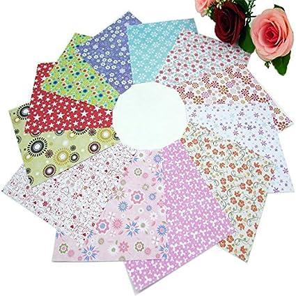 Amazon 72 Sheets 15x15cm Mix Color Square 12 Kinds Of Patterns