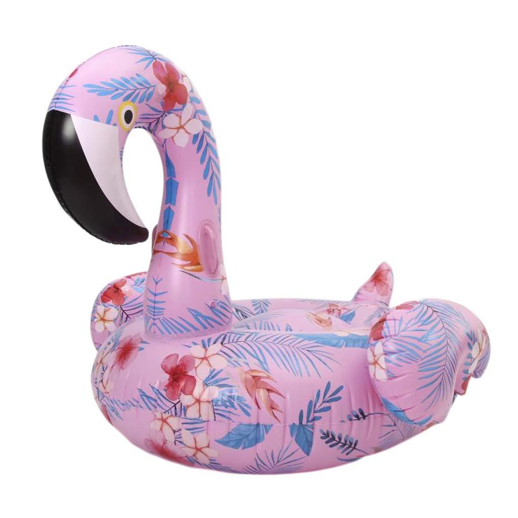 Erwachsene Pool Float PVC verdicken Strand Schwimmbad Druck Swan aufblasbare Spielzeuge 150x101x90cm Wddwarmhome