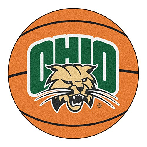 - FANMATS NCAA Ohio University Bobcats Nylon Face Basketball Rug