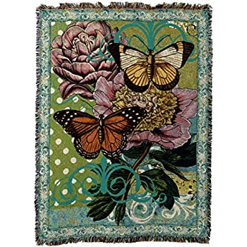 Amazon.com: Pure Country Weavers Monarch Butterfly Floral