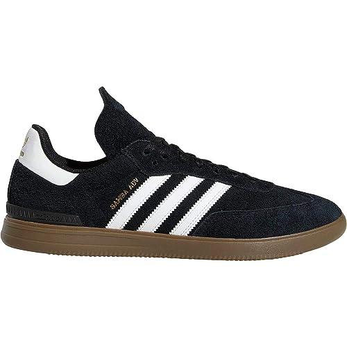 new concept d74d9 79cdd ... clearance adidas skateboarding mens samba adv core black footwear white  gum 5 4 a1c03 f9100