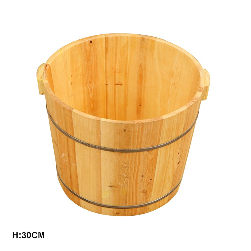 più ordine ERHANG Saune Bacino Di Pedicure 30 Centimetri Di Alta Alta Alta Unilaterale Abete Piatto Regalo Assistenza Sanitaria Pediluvio Barile Piedi Vasca Da Bagno Lavabo  qualità autentica
