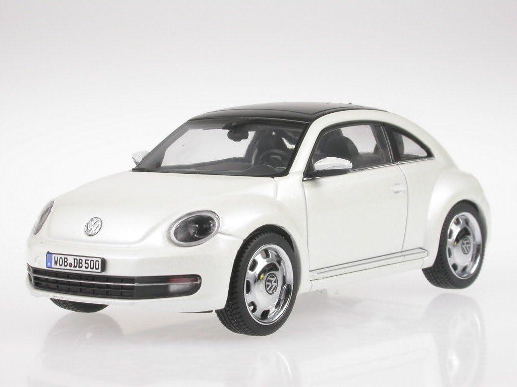 VW Beetle 2012 weiss Modellauto Schuco 1:43