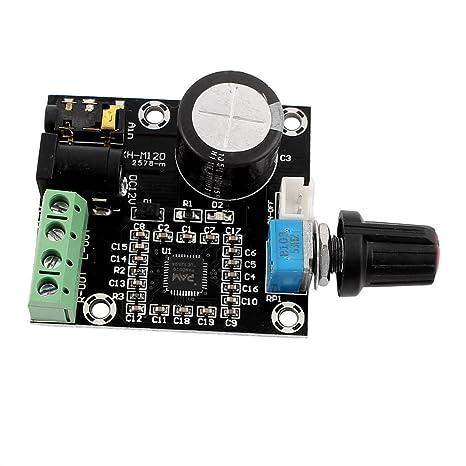 Amazon.com: eDealMax Estéreo 12V PAM8610 Hi-Fi de Doble Canal de Audio Mini tablero del módulo amplificador: Computers & Accessories
