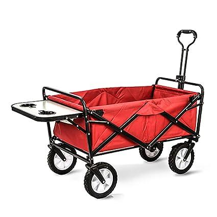 Amazon.com: GAIBO Carro de jardín plegable portátil, carro ...
