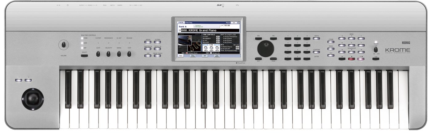 Teclado workstation profesional Korg KROME 61 PLATINUM: Amazon.es: Instrumentos musicales
