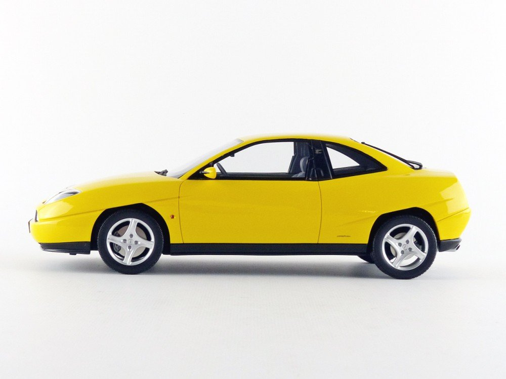 Otto Mobile Fiat Copa Turbo 1995, ot644, amarillo, en miniatura (escala 1/18: Ottomobile: Amazon.es: Juguetes y juegos