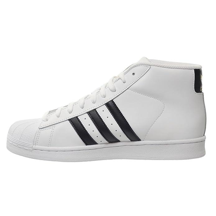 adidas (modello scarpe da uomo bianco / nero / bianco centrale