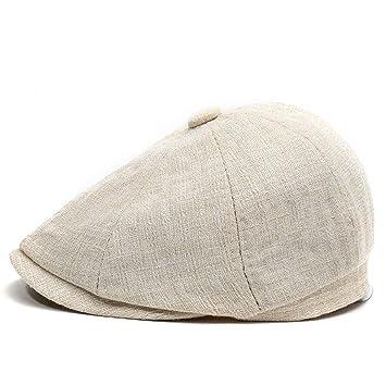 iSpchen - Gorra de chofer para Hombre Estilo Vintage, Transpirable ...