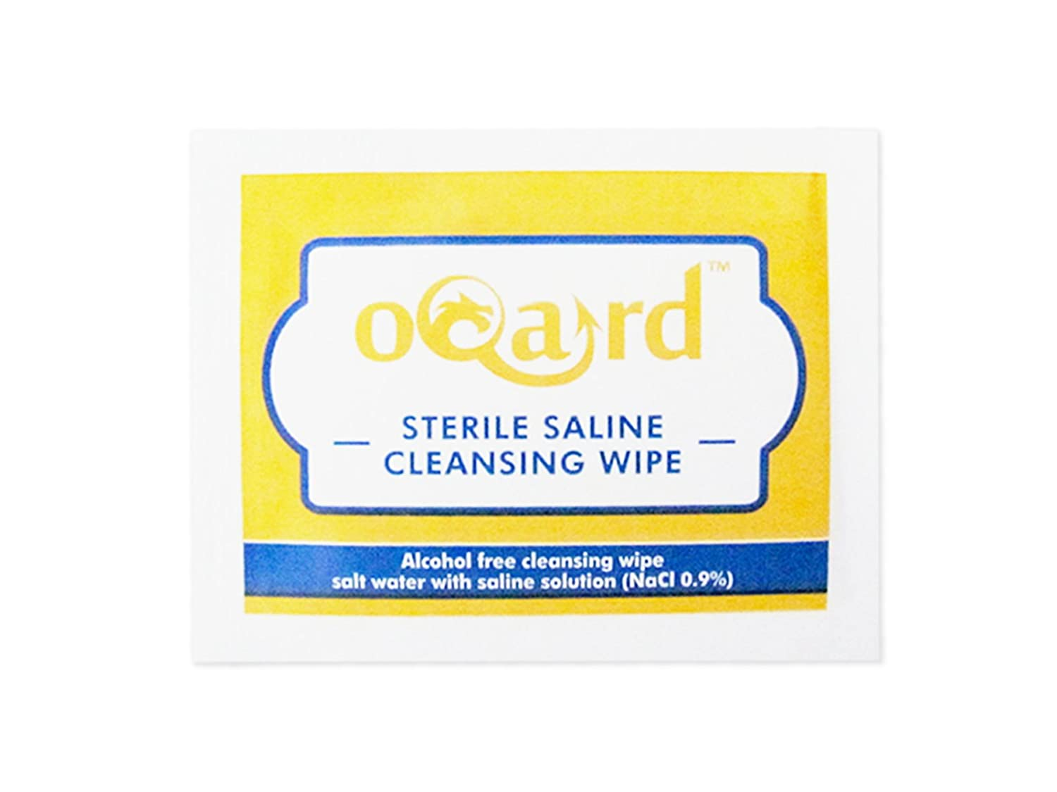 Reliance Medical No 8 Medium No 9 Large Dressings and Oqard Saline Wipes 10 Sets
