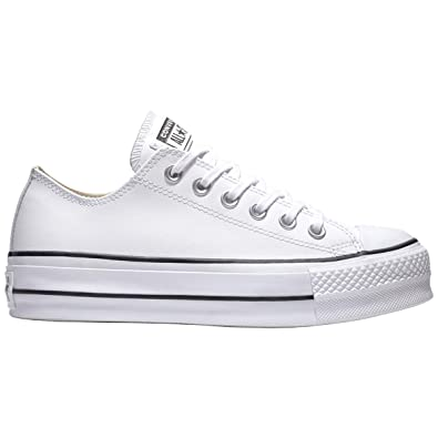 Converse Mädchen Chuck Taylor All Star Lift CLEAN Sneakers ...