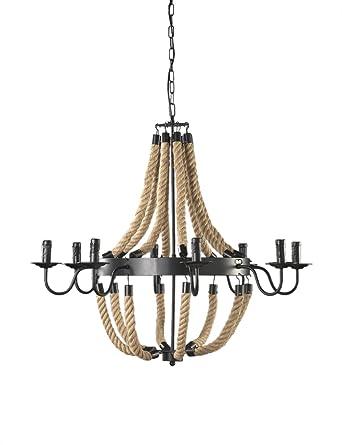 Onli - Modelo Impero - Lámpara de techo con cuerdas ...
