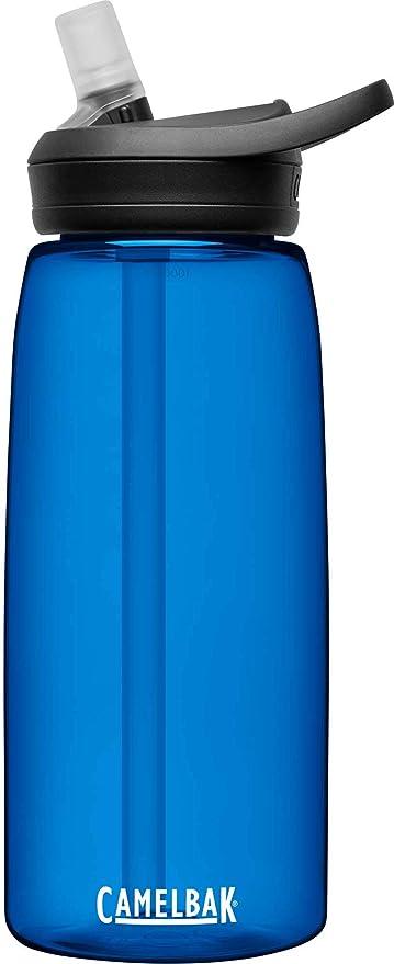 CAMELBAK Eddy+ bidón de Agua 1000 ml Uso Diario Negro, Marina Copoliéster, Tritan - Bidones de Agua (1000 ml, Uso Diario, Negro, Marina, Copoliéster, Tritan, Polipropileno (PP), Monótono): Amazon.es: Deportes y aire libre