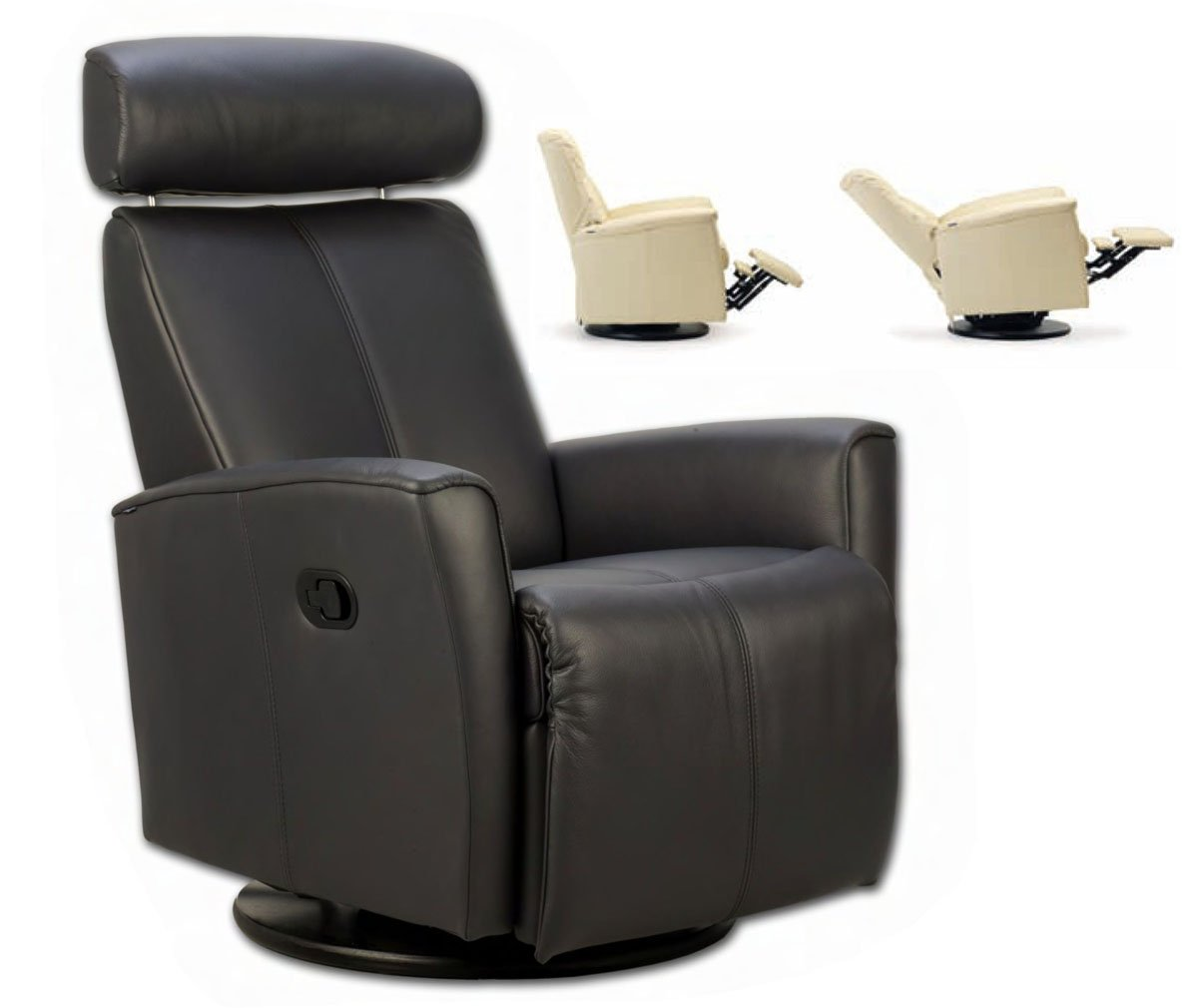 Amazon.com Fjords Atlantis Swing Relaxer Zero Gravity Recliner Norwegian Ergonomic Scandinavian Lounge Anti-Gravity Reclining Chair Furniture Premium Astro ...  sc 1 st  Amazon.com : zero gravity recliner leather - islam-shia.org