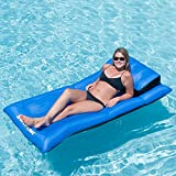 Ultimate Swimline Pool Floating Lounge Fun Mattress Floater with Integral Pillow