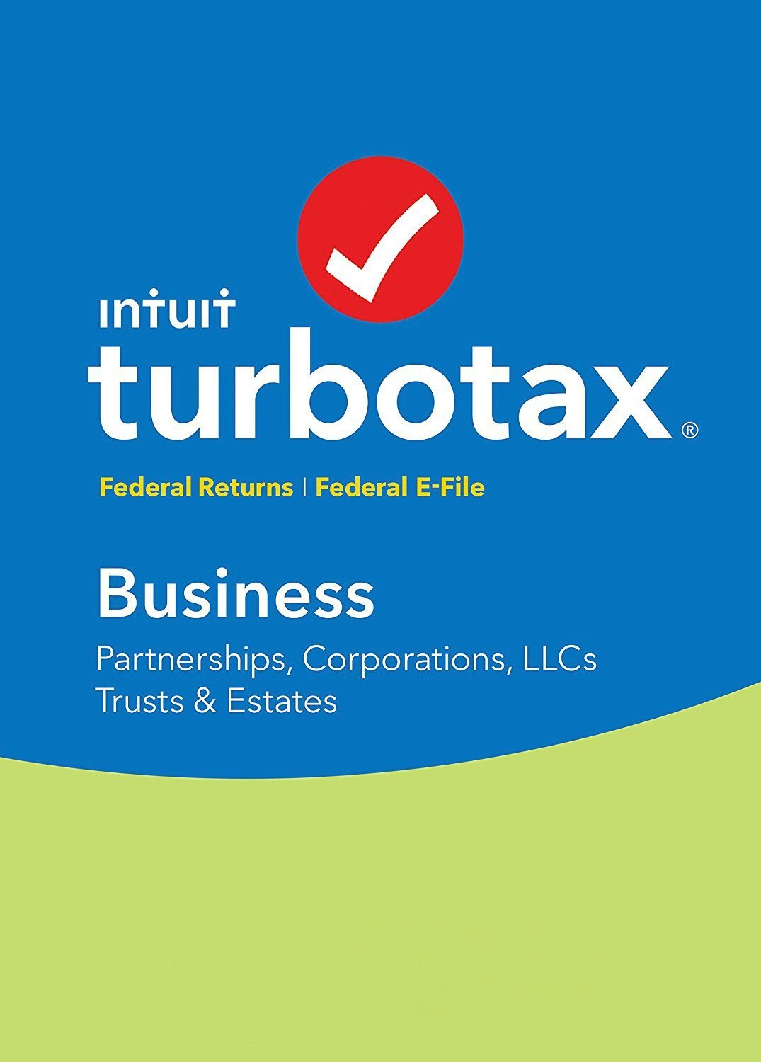 Intuit TurboTax Business 2017 Turbo Tax with Federal Efile for Corporation Partnership LLC Trust Estate