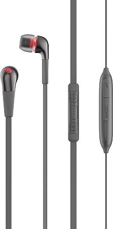 Emtec ECAUDE200BT Ecouteurs intra auriculaires filaires cable plat Bluetooth pour APTx Série E100 Stay Earbuds