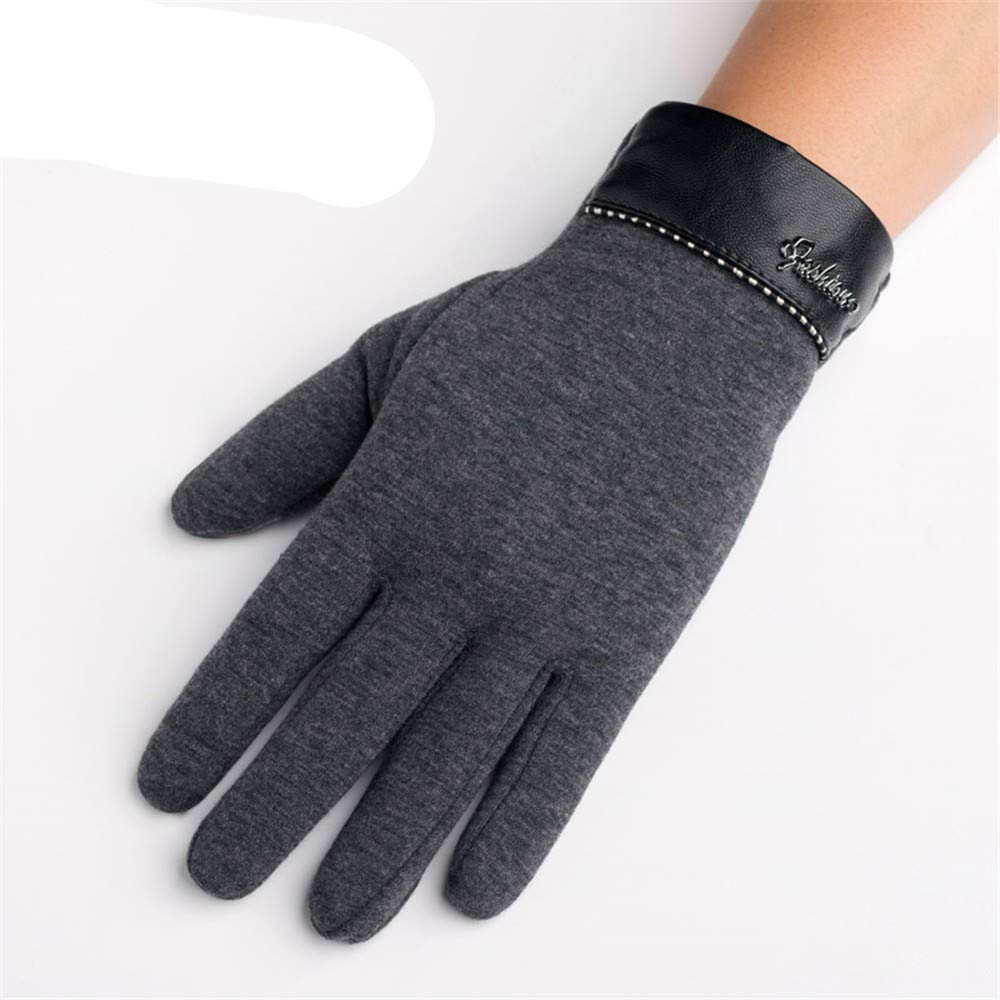 Zyyaxky Die Herbst- und Winterhandschuhe der Männer Fallen Nicht in den warmen koreanischen Winter-Touchscreen der fünf Finger