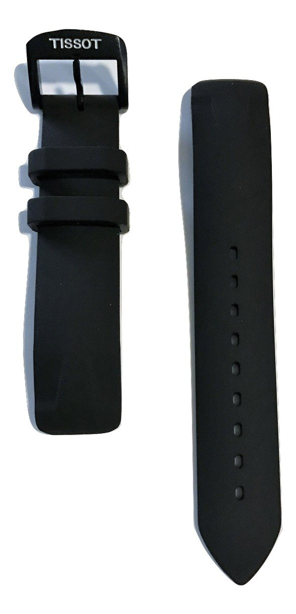 Tissot T-Race Touch Black Rubber Strap Band for Back Case T081420A