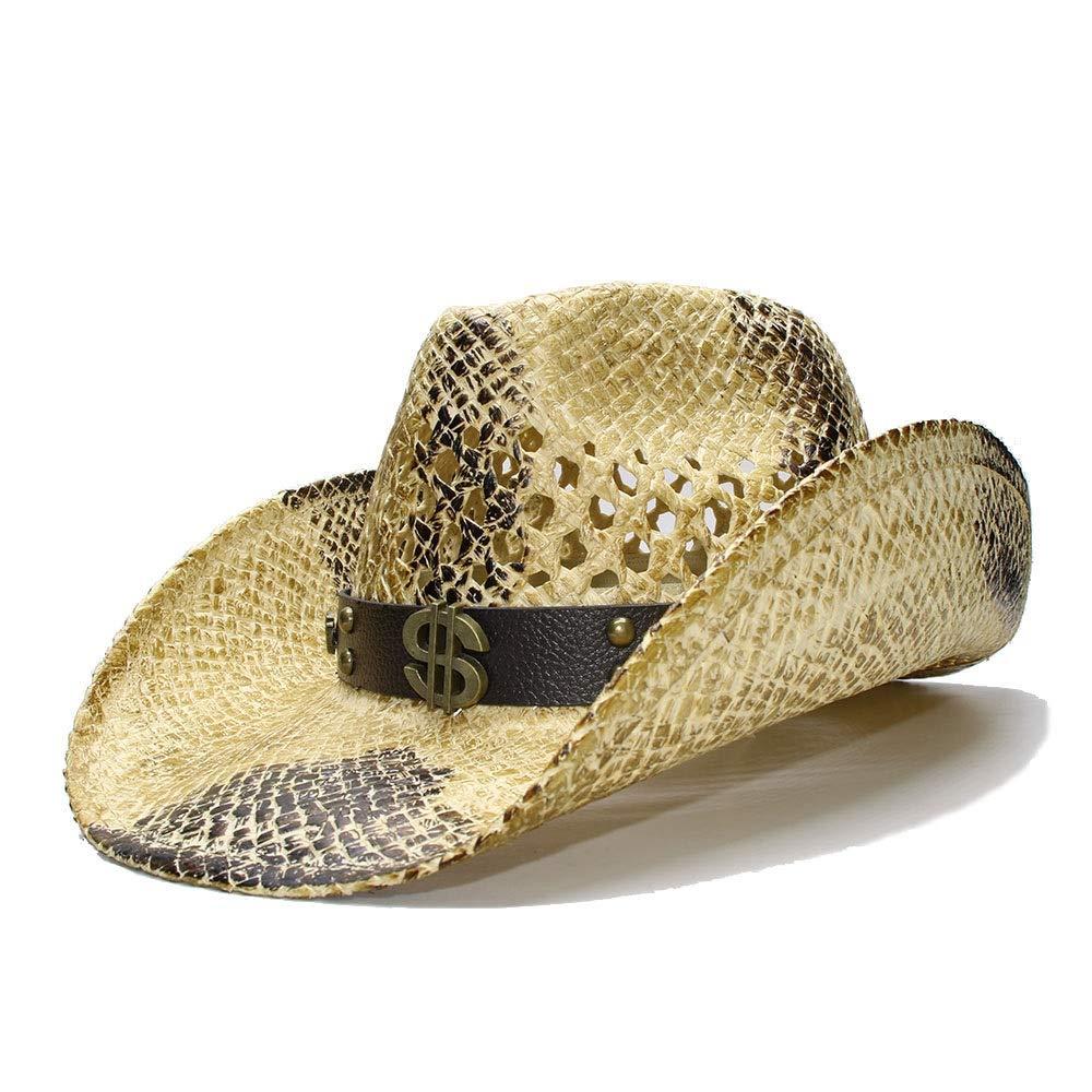 MUMUWU Straw Sun Hat Men...