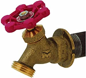 B & K Mueller 108-004 Outdoor Hose Lawn Faucet 3/4-Inch Brass Female Pipe Thread Sillcock (2)