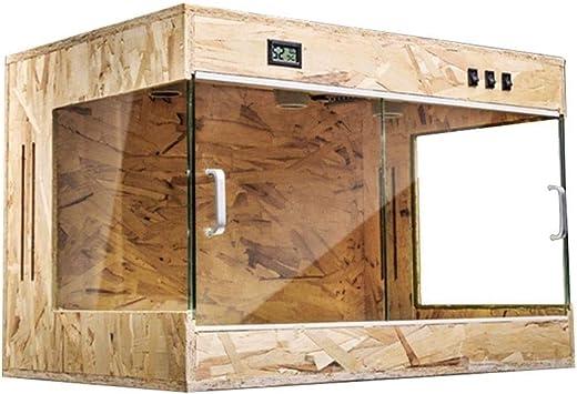 Transparente Reptil Tanque Box, Amplio reproducción Cisterna de Transporte Caja de Pet Shop Caja del Gato del Perro casa del Animal doméstico (Size : 80 * 40 * 40CM): Amazon.es: Hogar