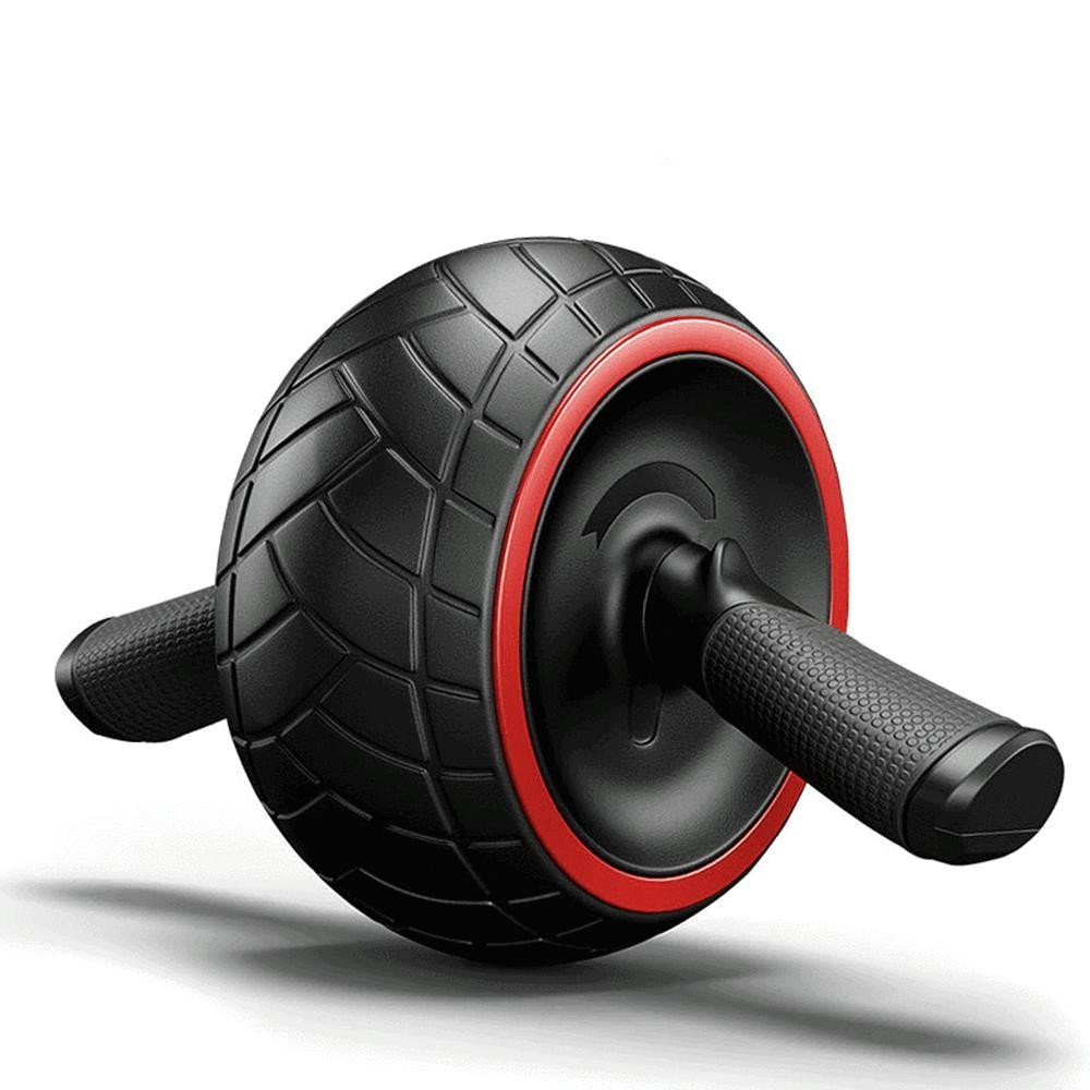 ZHANGYUSEN Sound Proof Anti-lärm-Ab Roller Bauch Power Roller Runden Bauch- Rad Muskel Übung Training Rad