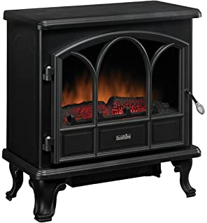 Duraflame DFS 750 1 Pendleton Electric Stove Heater, Black
