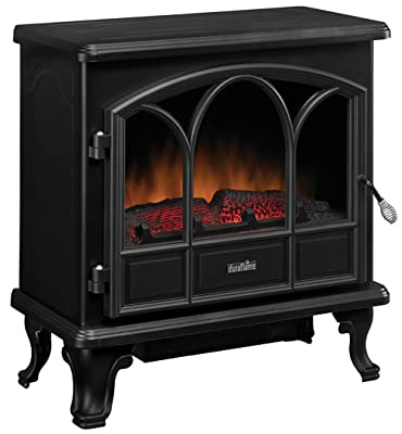 Duraflame DFS-750-1 Pendleton Electric Stove Heater, Black