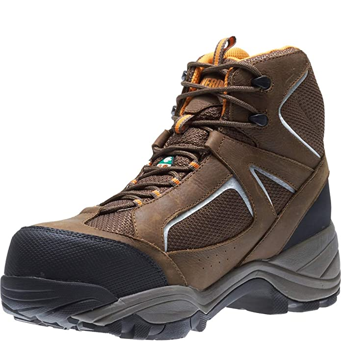 febd4554fcf Wolverine Men's Quest Puncture Resistant WPF Composite Toe Work Boot