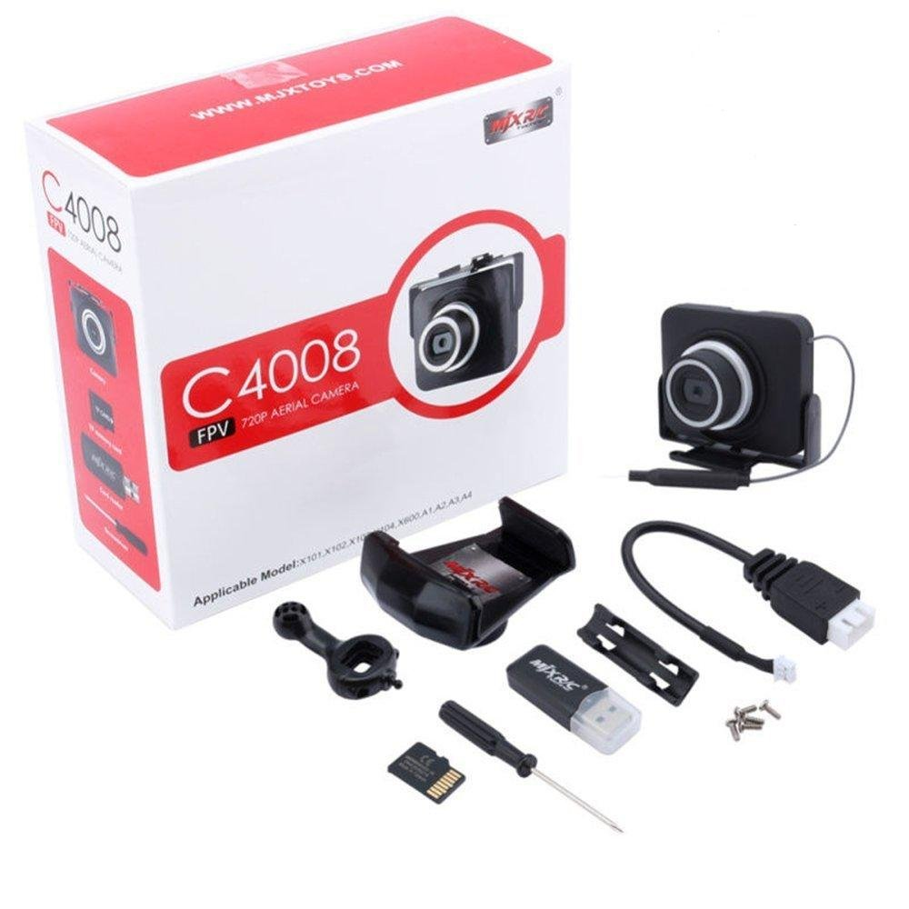 MJX C4008 PFV cámara WiFi 1.0 MP cámara HD 720P helicóptero piezas ...
