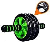 Stoga 3 AB Roue Rollers abdominale Équipement d'exercice avec confortables, Poignées de Easy Grip