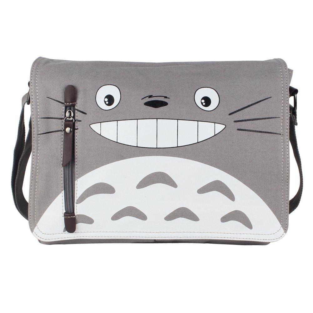 3390775368 YewNeak My Neighbor Totoro Cute Canvas Shoulder Sling Bag Messenger